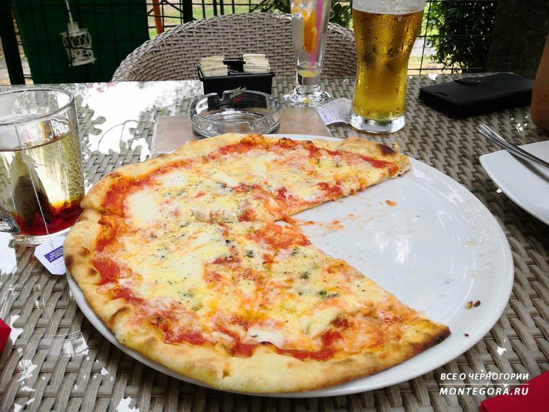 Пицца в Черногории