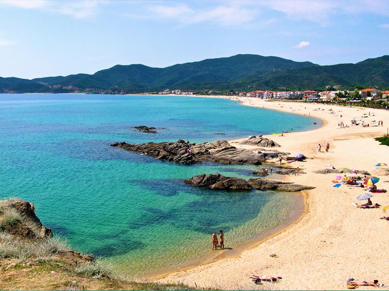 Пляжи Греции более разнообразные