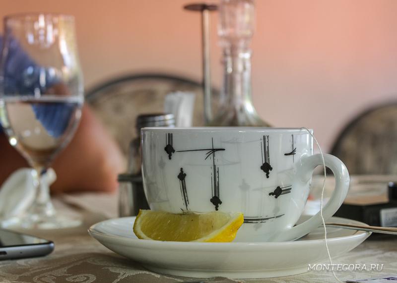 В Черногории обычно пьют кофе, а не чай