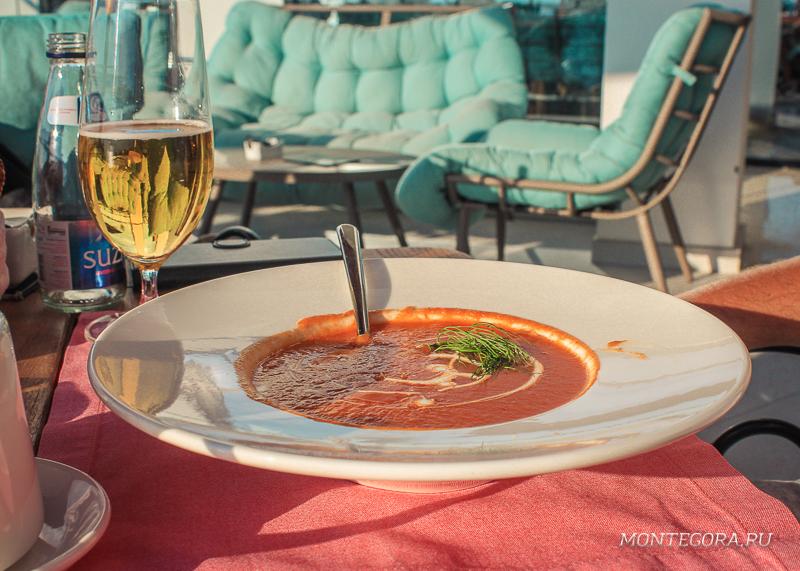 На мой взгляд, лучший ресторан в Добра Воде