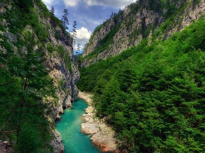Пейзажи в горах Черногории