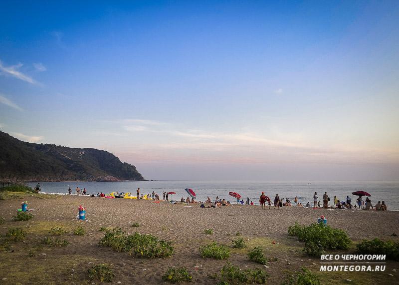 Пляжи Черногории в сентябре