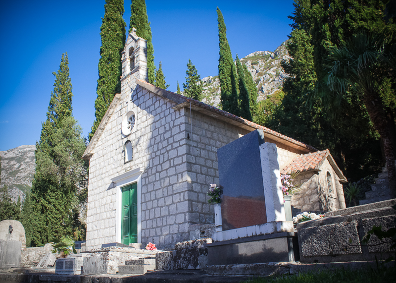 Монастырь рядом с Рисаном