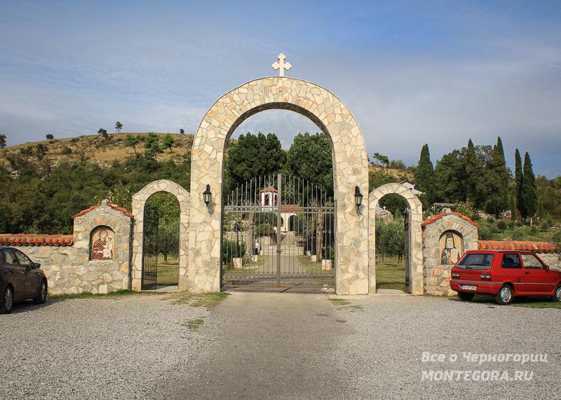 Дайбабский монастырь под Подгорицей