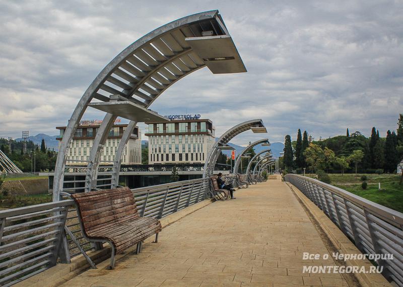 Прогулочные зоны в Подгорицы