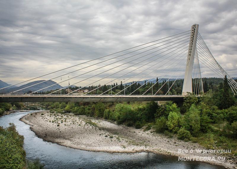 Мост Тысячелетия в Подгорице