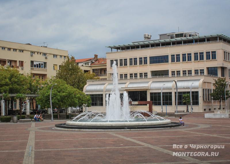 Площади Подгорицы