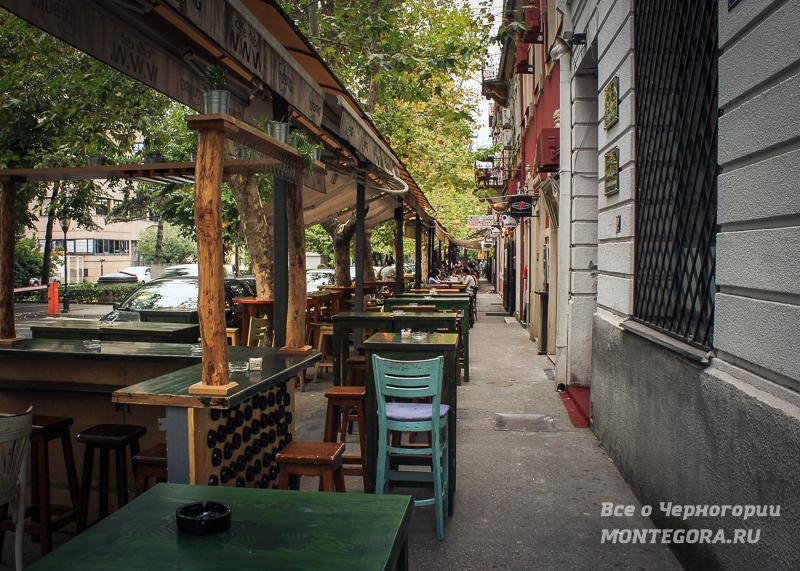 Кафе в Подгорице
