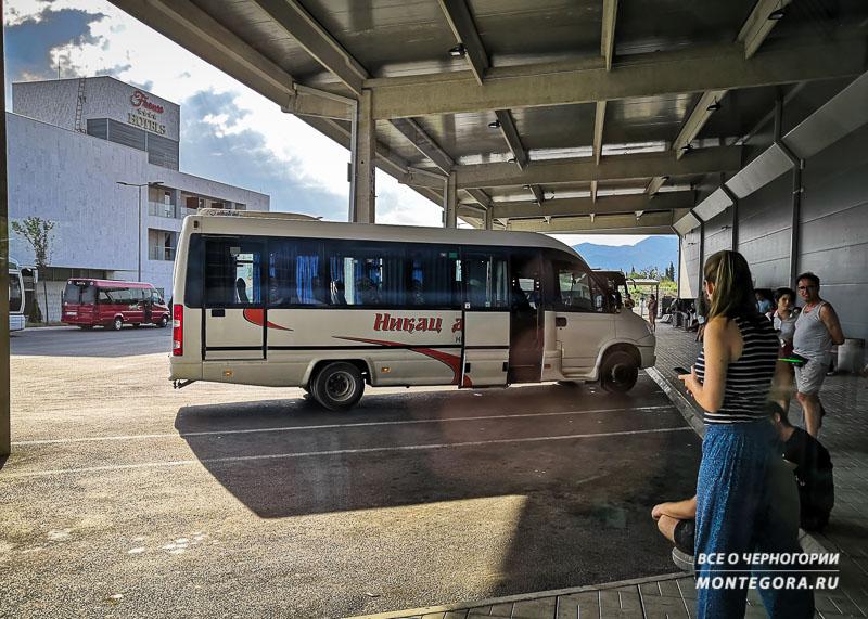 Тиватская автостанция и что на ней находится