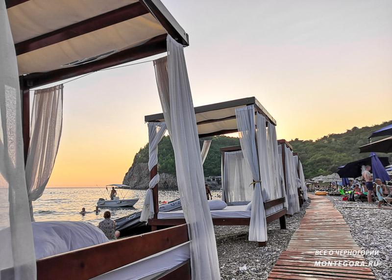 Топ пляжей в Черногории