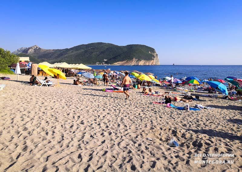 На какой пляж поехать в Черногории