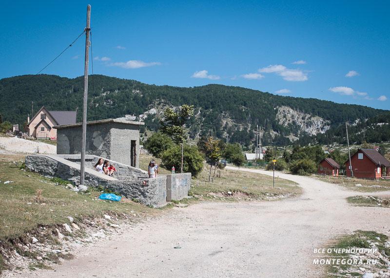 Начало пешеходного маршрута до ущелья Горло Соколово