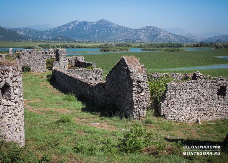 Форт Лесендро на Скадарском озере