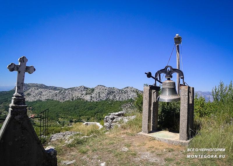 Крепость Медун и её руины