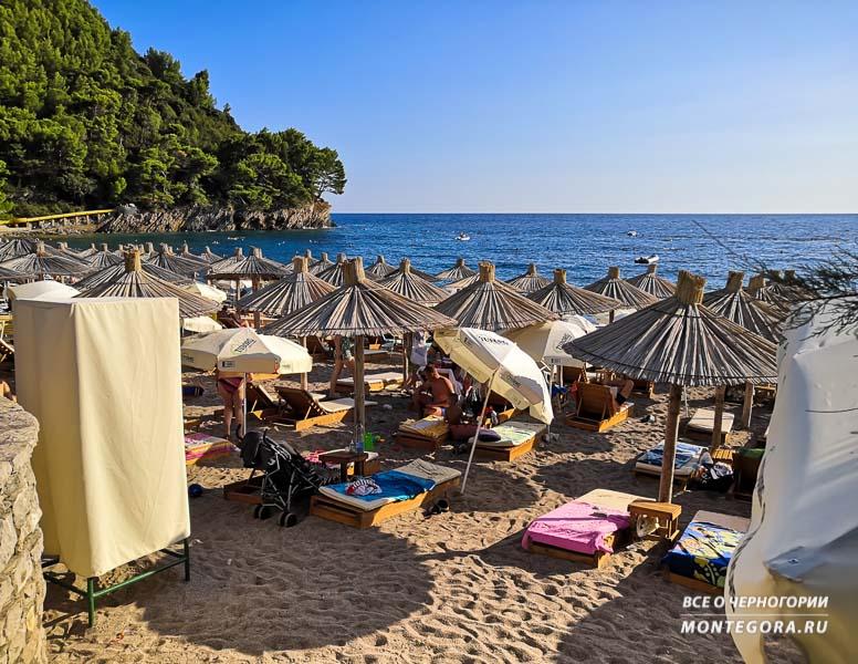 На какой пляж поехать отдохнуть в Черногории