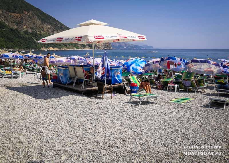 На каком пляже выгоднее и комфортнее отдыхать в Черногории