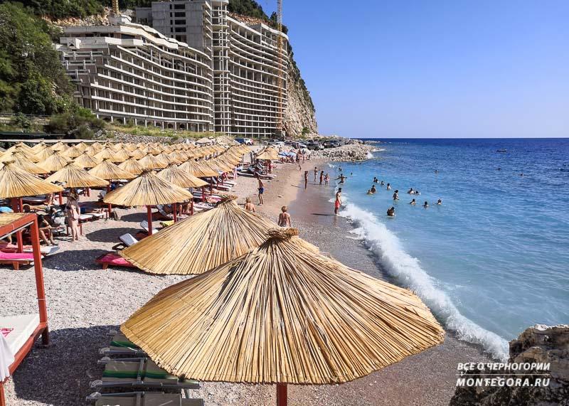 Где найти хороший пляж для отдыха в Черногории
