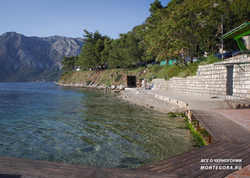 Где отдохнуть и искупаться в Черногории