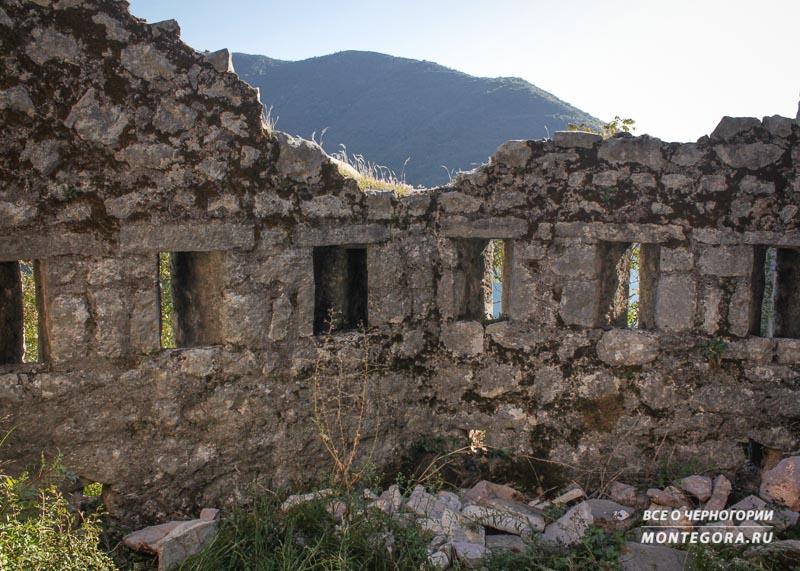 Древняя архитектура в Черногории