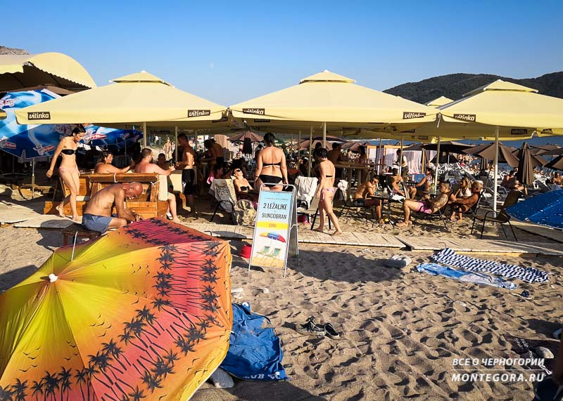 Сколько стоят лежаки и зонтики на пляжах