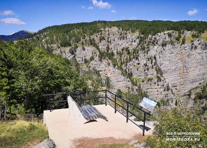 Ущелье Горло Соколово со смотровой площадки