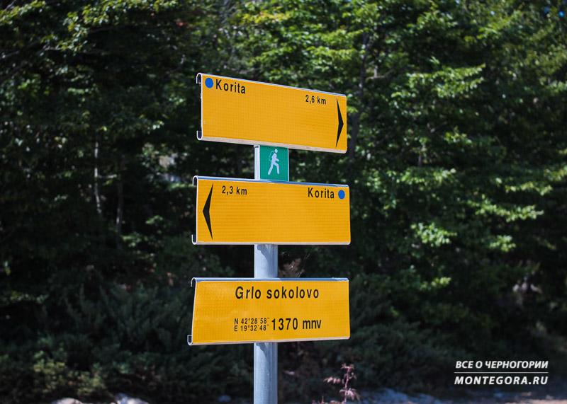 Как пешком добраться до ущелья Горло Соколово