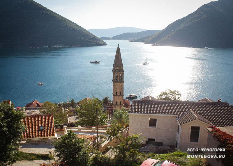 Живописные пейзажи в Черногории