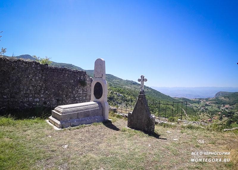 Руины Медунской крепости