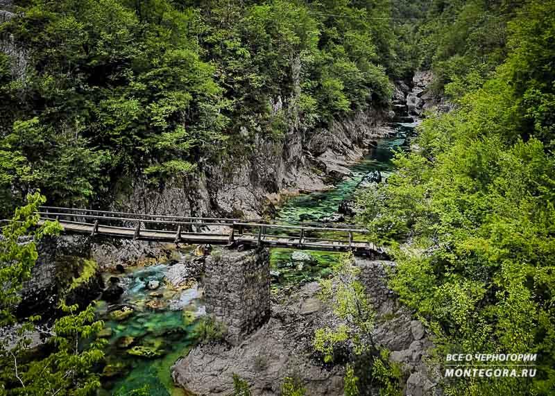 Самые пейзажные места в Черногории