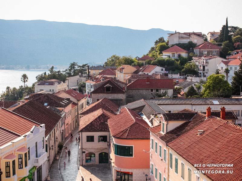 Красивые пейзажи в Черногории