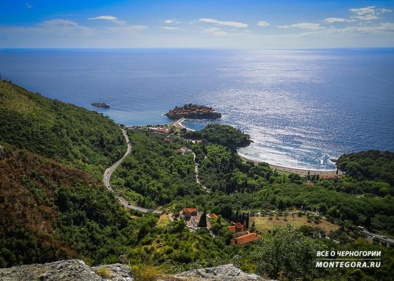 Где найти красивые панорамы для фото в Черногории