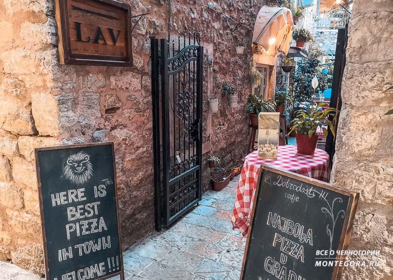 Где поесть в Старом городе Будва