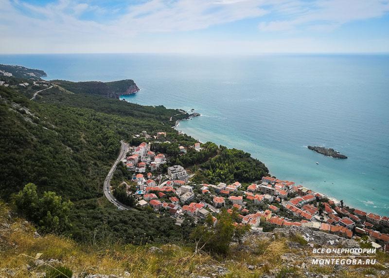 Главные панорамы в Черногории