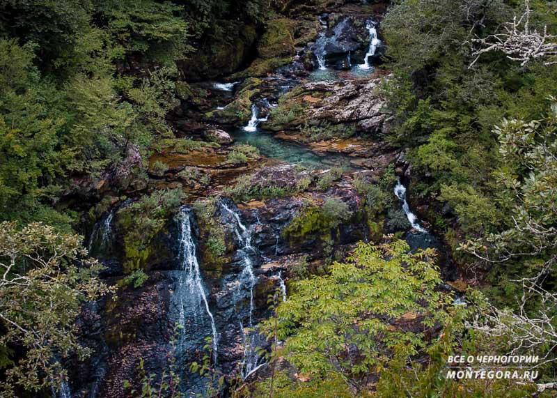 Места, где можно залипнуть, смотрев на красоту природы в Черногории