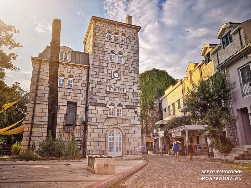 Архитектурные достопримечательности в Черногории