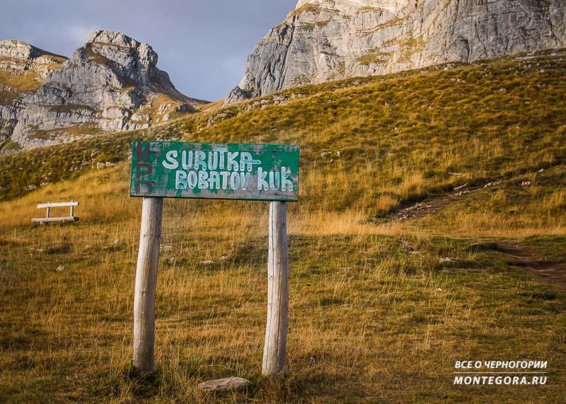 Черногорские горные рельефы