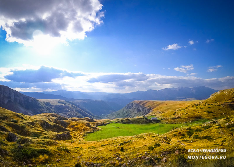 Что представляют из себя панорамные дороги в Черногории