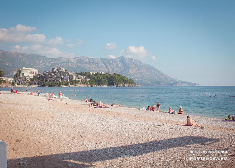 Топ пляжей Будвы для отдыха в Черногории