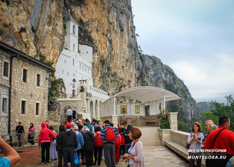 Как попасть в монастырь Острог в Черногории