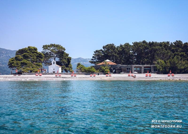 Что из себя представляют острова в Черногории