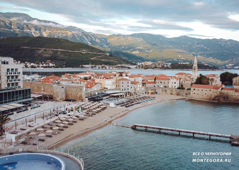 Черногорские пляжи и горы