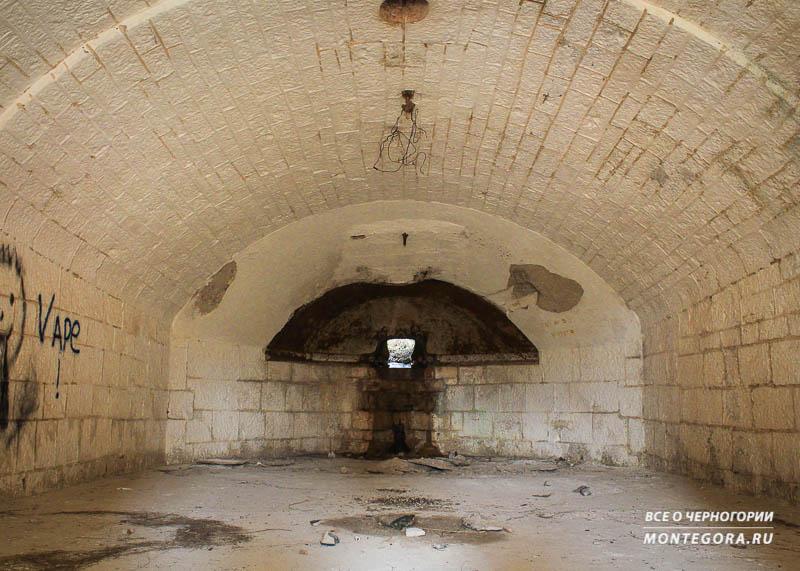 Тайные места форта Горажда в Черногории