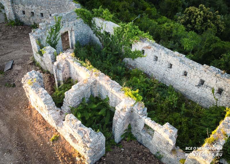 От крепости мало что осталось