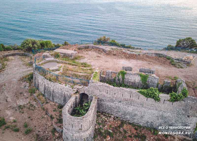 Вид на крепость с высоты