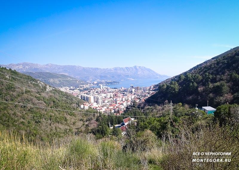 Панорама на Будву в Черногории