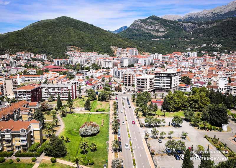 Городская суета в Черногории