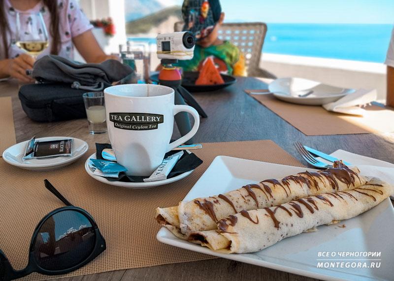 Палачинки - самый популярный десерт в Черногории